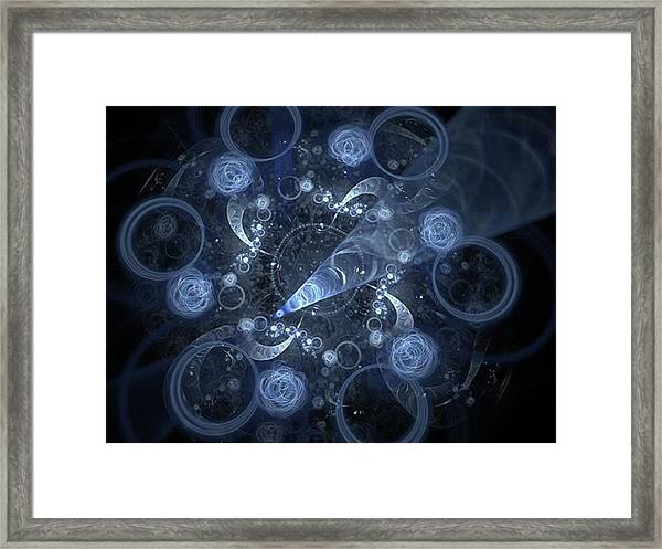 Transcendence - Digital Abstract Framed Print by Michal Dunaj