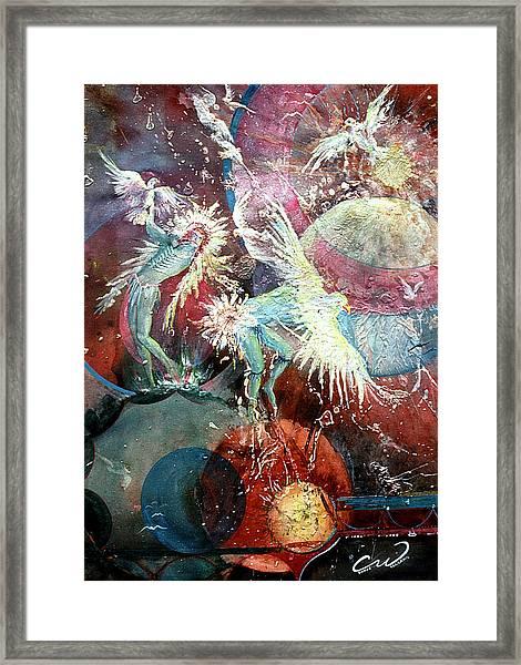 Transcending Indian Spirits Framed Print