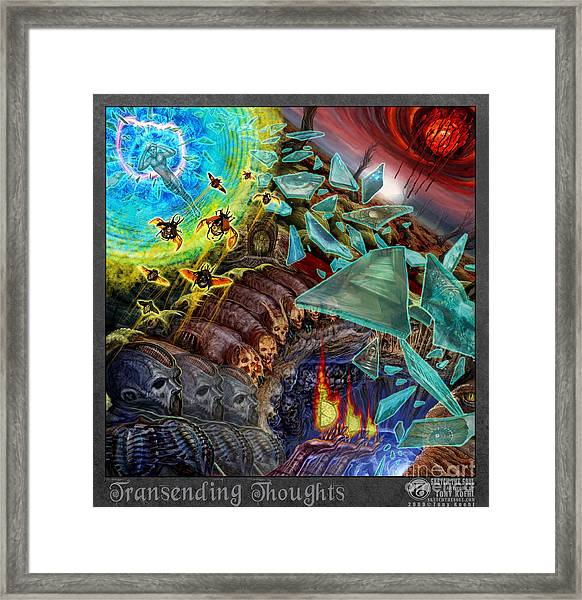 Transending Thoughts Framed Print