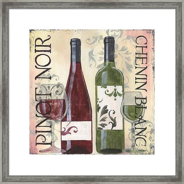 Transitional Wine 1 Framed Print