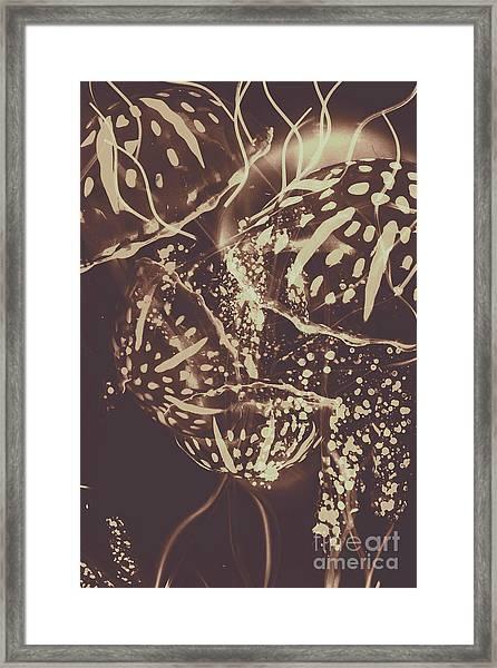 Translucent Abstraction Framed Print