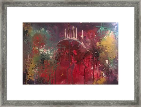 Trapped Soul Framed Print