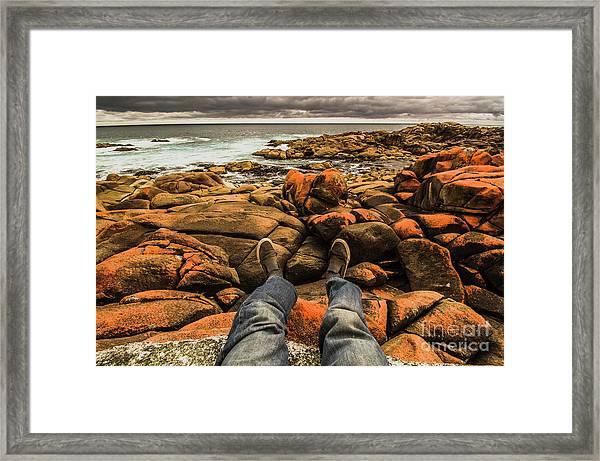 Travelling West Coast Tasmania Framed Print