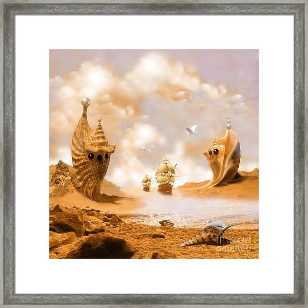 Treasure Island Framed Print