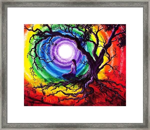 Tree Of Life Meditation Framed Print