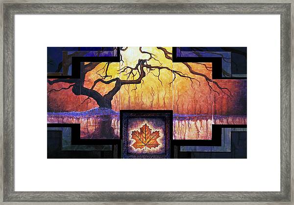 Tree Of Life The Giver Framed Print