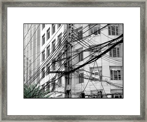 Tree Of Progress Framed Print