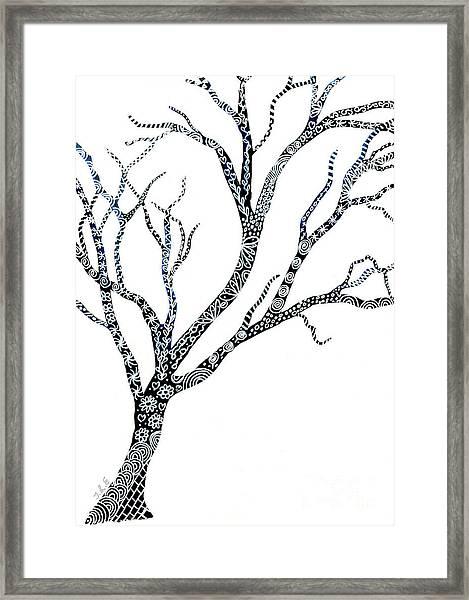 Tree Of Strength Framed Print