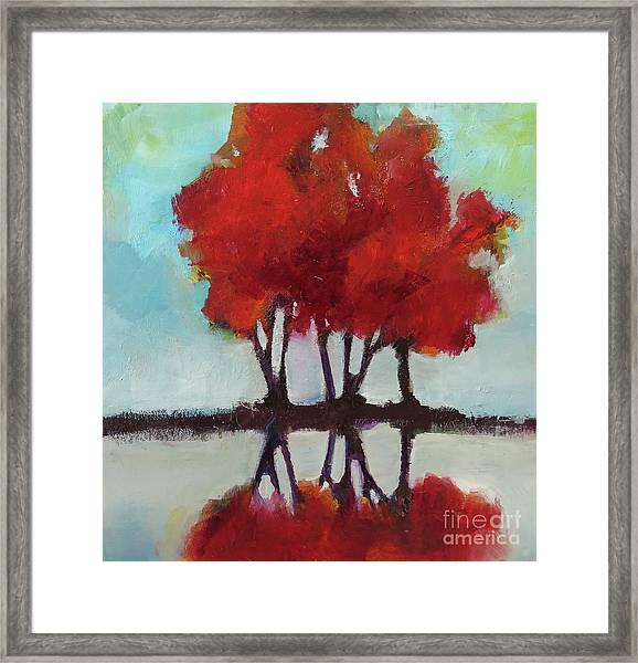Trees For Alice Framed Print