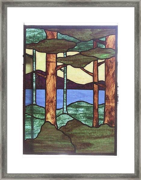 Trees Framed Print by Jane Croteau