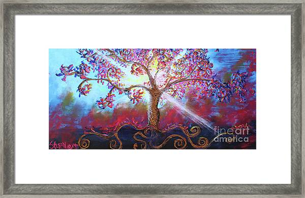 Treevelation Framed Print