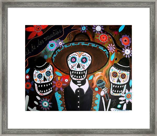 Tres Mariachis Framed Print