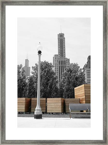 Framed Print featuring the photograph Tri Towers by Dylan Punke