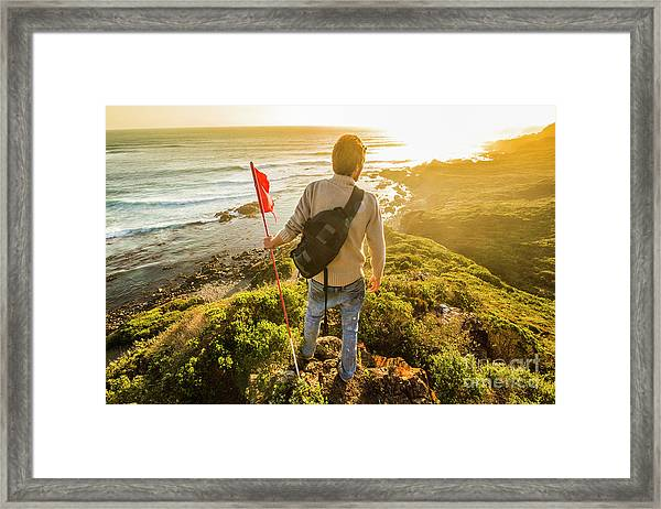 Trials And Triumphs  Framed Print