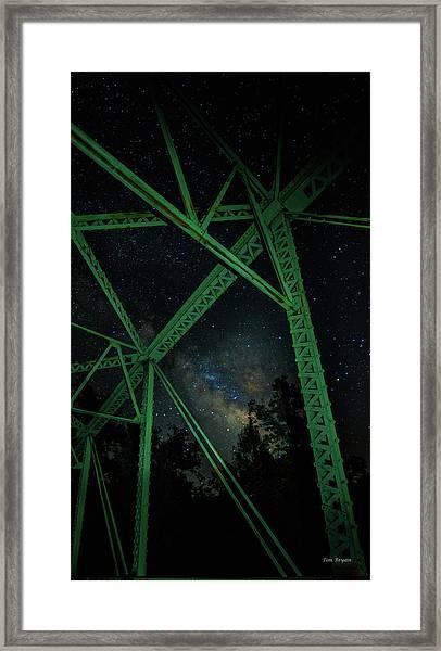 Triangulation Framed Print