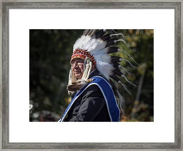Tribal Elder Framed Print