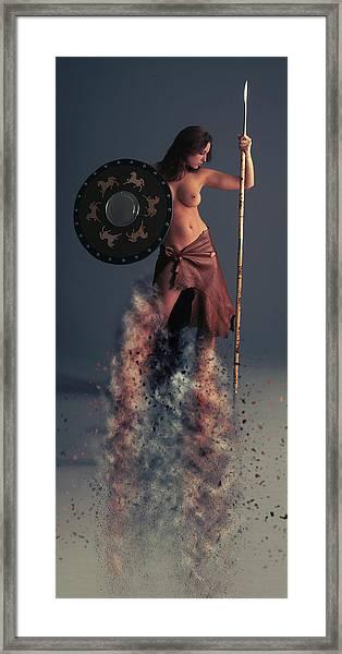 Tribal Warrior Framed Print