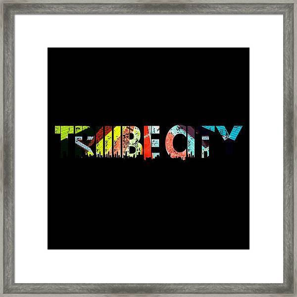 Tribe Lives Framed Print