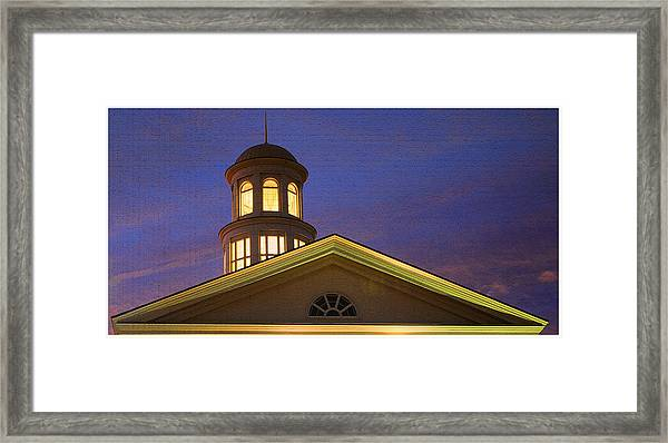 Trible Library Dome Framed Print