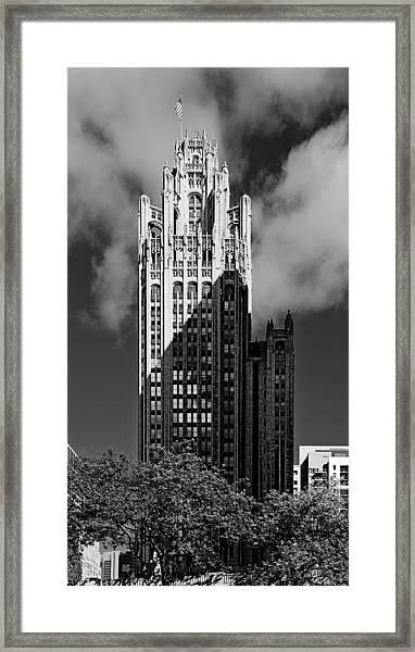 Tribune Tower 435 North Michigan Avenue Chicago Framed Print