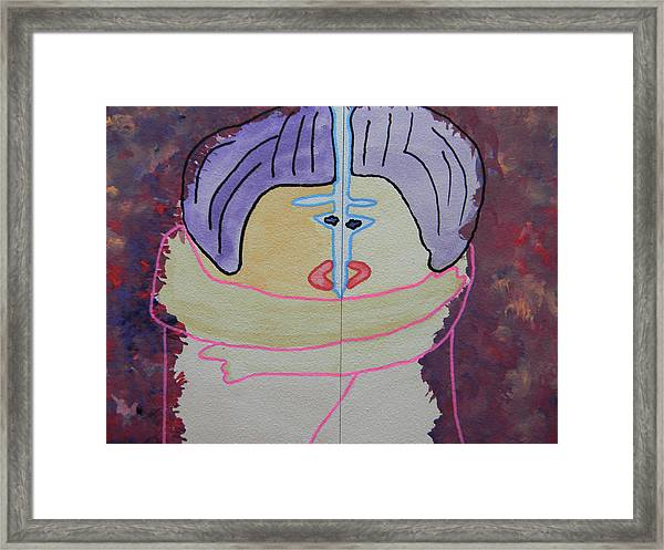 Tribute To C. Brancusi Framed Print