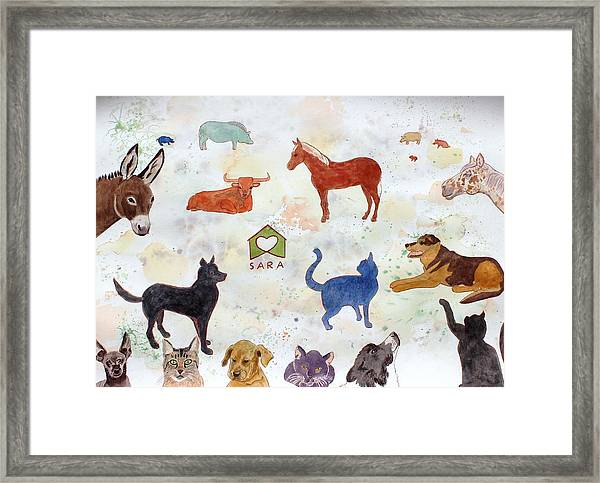 Tribute To Tracy Framed Print