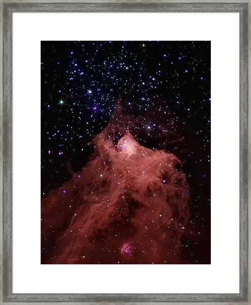 Trigger-happy Star Formation Framed Print