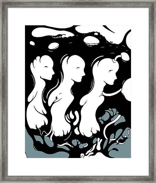 Trilogy Framed Print