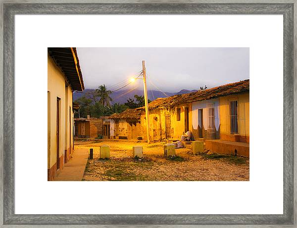 Trinidad Morning Framed Print
