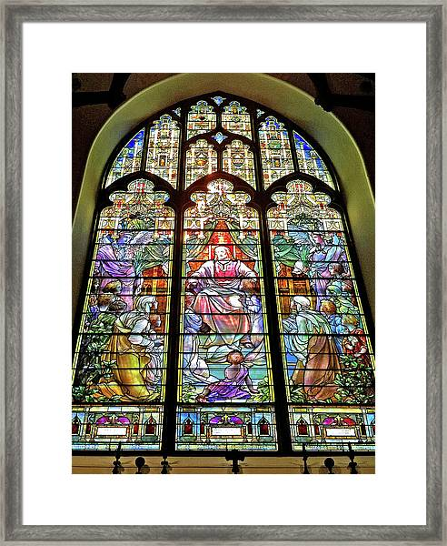 Trinity Church Galveston Framed Print
