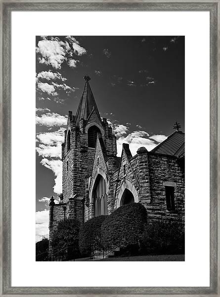 Trinity Church Framed Print