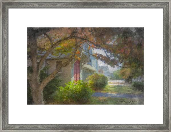 Trinity Episcopal Church, Bridgewater, Massachusetts Framed Print