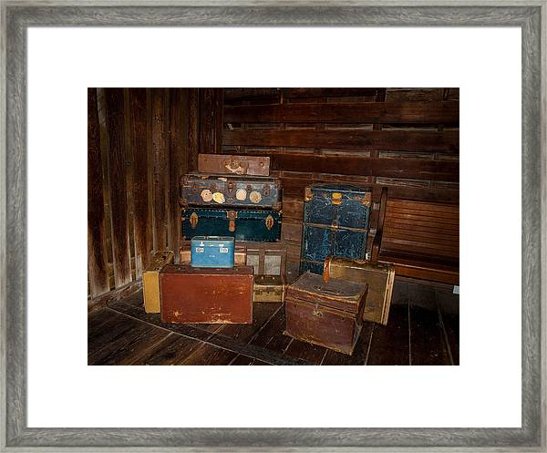 Trip Time Framed Print