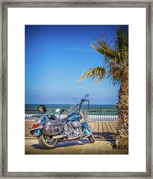 Trip To The Sea. Framed Print