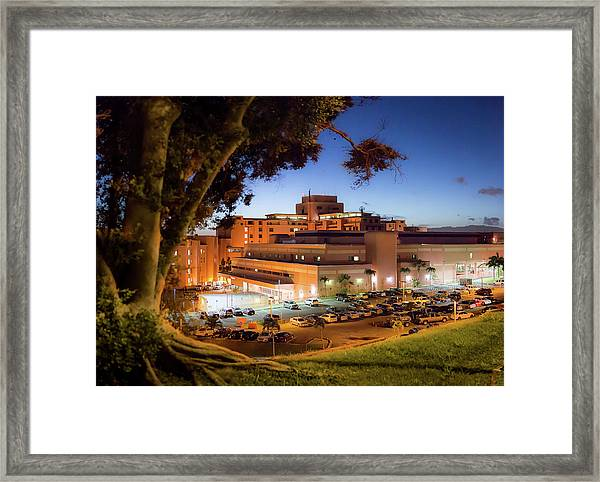 Tripler Army Medical Center Framed Print