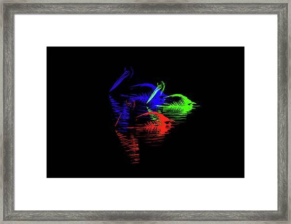 Tripolar Framed Print