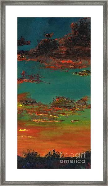 Triptych 3 Framed Print