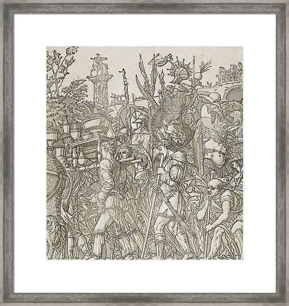Triumph Of Caesar Framed Print