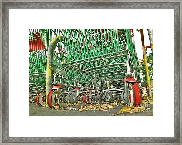 Trolley Convoy Framed Print