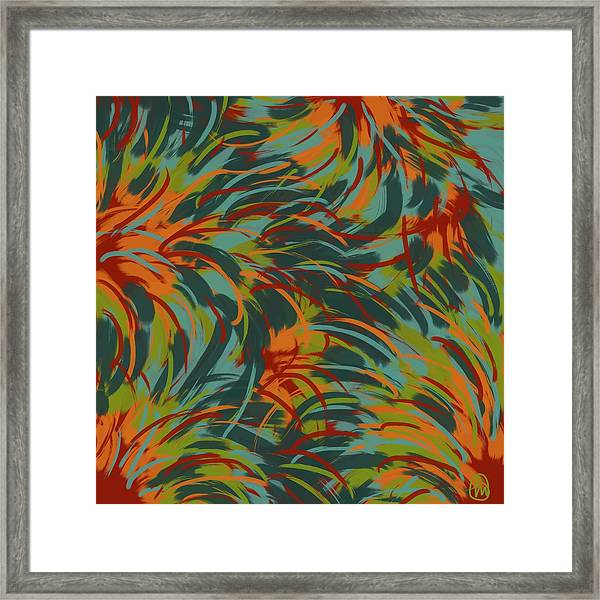 Tropical Breeze Framed Print