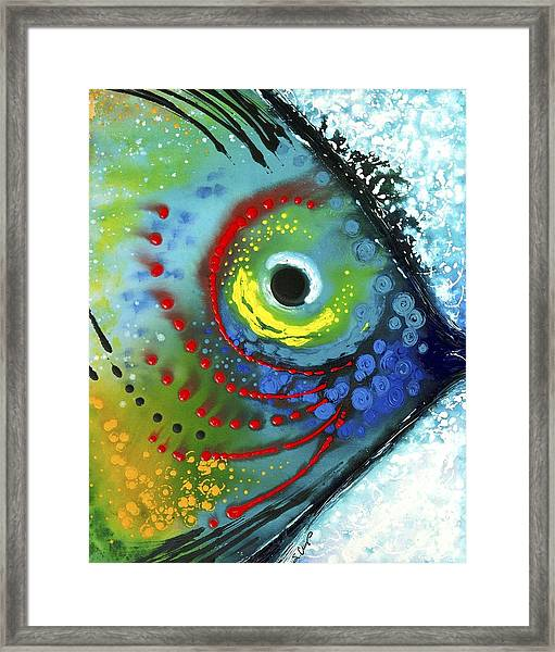Tropical Fish Framed Print