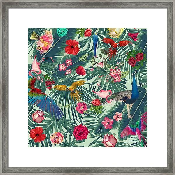 Tropical Fun Time  Framed Print