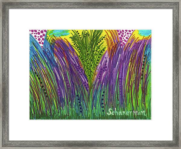 Tropical Jungle Framed Print