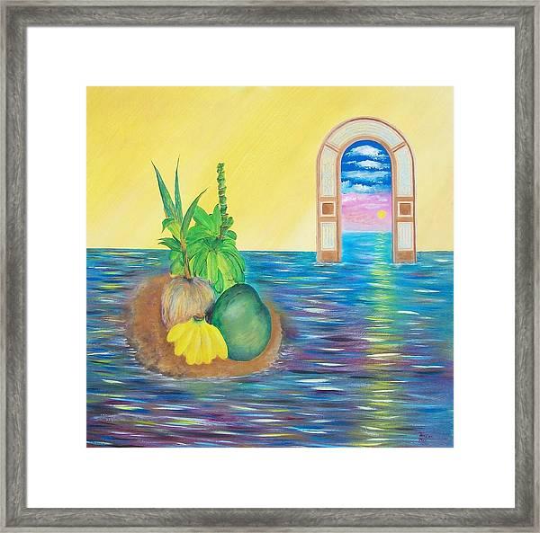 Tropical Still Life Framed Print