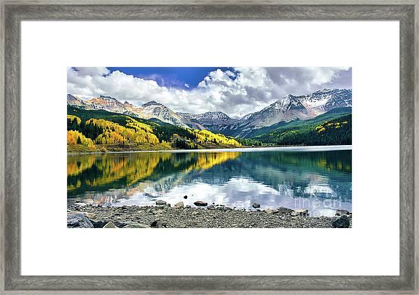 Trout Lake Framed Print