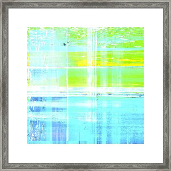 True Three Framed Print