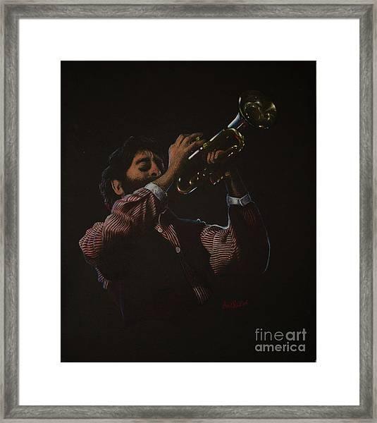 Trumpeteer Framed Print
