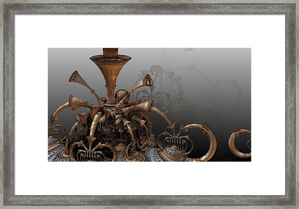 Trumpets Of Doom Framed Print