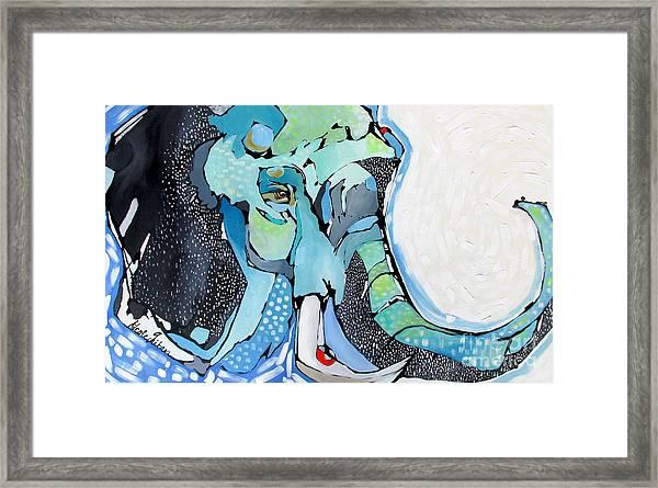 Trunks Up Framed Print