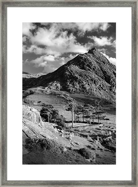 Tryfan And Ogwen Valley Framed Print